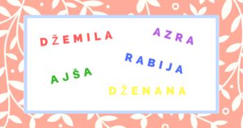 Moderna muslimanska imena za djevojcice